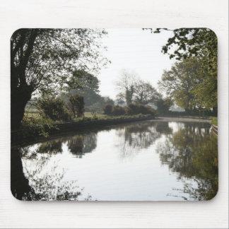 Llangollen Canal Trees Mousepad