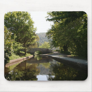 Llangollen Canal Valley Postcard Mouse Pad