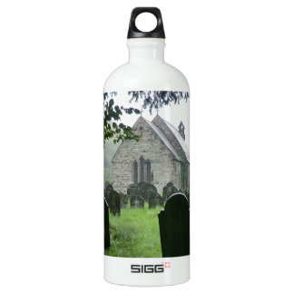 Llanmawddwy Parish Church (St Tydecho) Aluminum Water Bottle