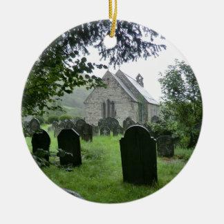 Llanmawddwy Parish Church (St Tydecho) Ceramic Ornament