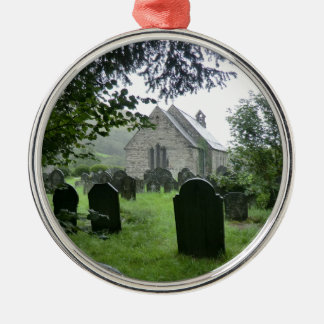 Llanmawddwy Parish Church (St Tydecho) Metal Ornament