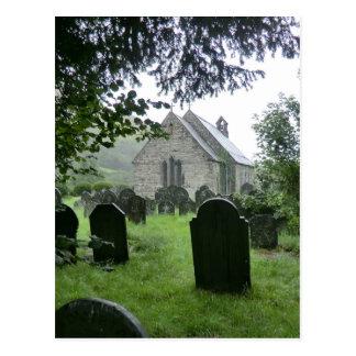 Llanmawddwy Parish Church (St Tydecho) Postcard