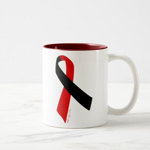 Llano ateo de la solidaridad taza de café