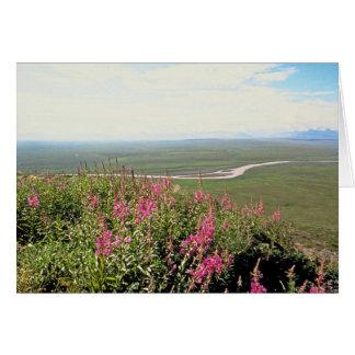 Llano costero tarjeta de felicitación