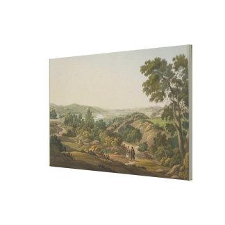Llano de Olympia, platee 6 de la parte 1 de 'opini Impresión En Lienzo