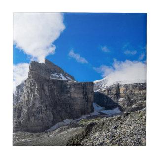 Llano de seis glaciares Lake Louise Alberta Canadá Azulejos Cerámicos