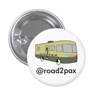 Llano del botón de Road2PAX Pins