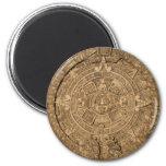 llano maya del calendario imán de frigorifico