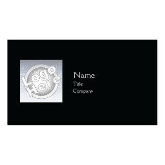 Llano negro - negocio tarjeta de visita