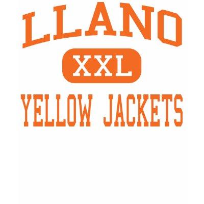 Llano - Yellow Jackets - High School - Llano Texas t shirt $ 32.60