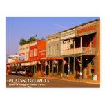 LLANOS, GEORGIA - casera de presidente Jimmy Carte Postales