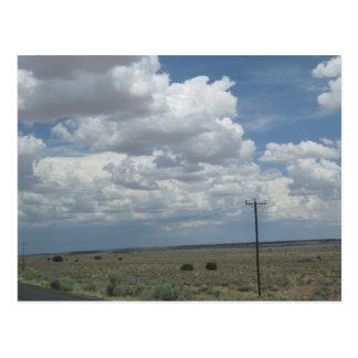 Llanos secos del noreste de Arizona Tarjetas Postales