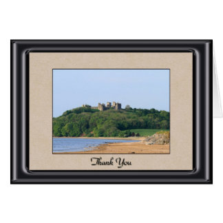 Llanstephan Castle Thank You Card