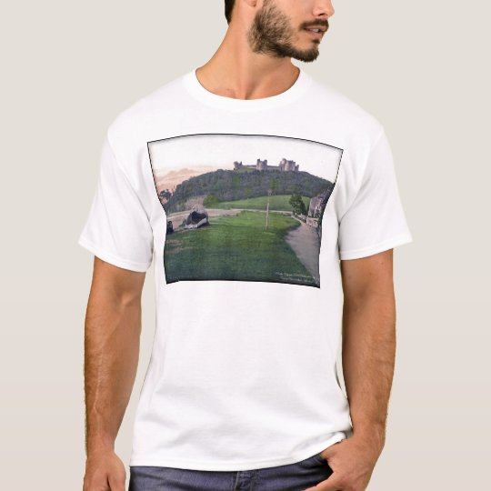 Llanstephan Castle Wales Vintage Photo T-Shirt