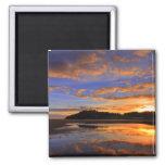 Llanstephan Sunset Fridge Magnet