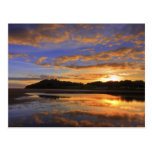 Llanstephan Sunset Postcard