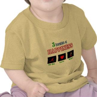 Llave a la felicidad camiseta