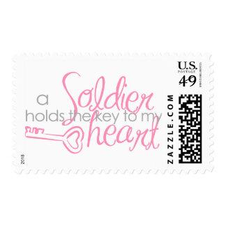 Llave a mi corazón timbres postales