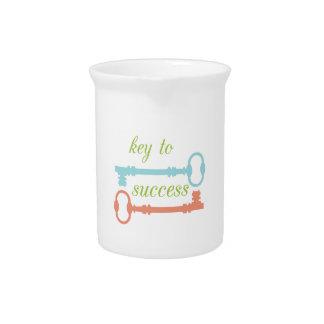 Llave al éxito jarra