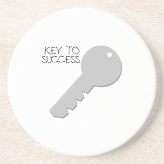 Llave al éxito posavasos diseño
