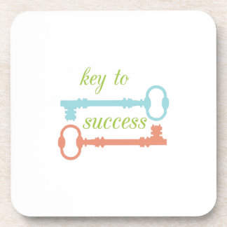 Llave al éxito posavaso