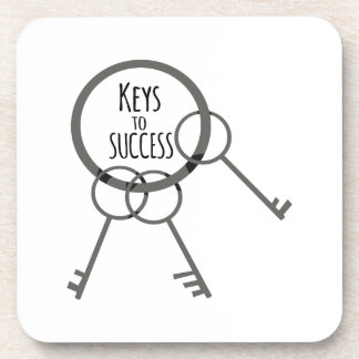 Llave al éxito posavasos