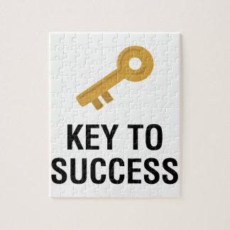 Llave al éxito puzzle