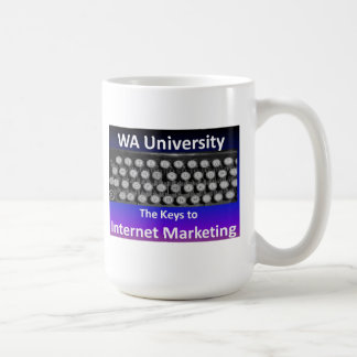 Llave al márketing del Internet Taza