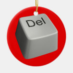 Llave de cancelación grande ornamento para arbol de navidad