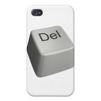 Llave de cancelación grande iPhone 4 fundas