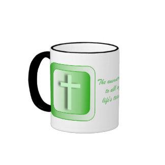 Llave de la respuesta taza de café