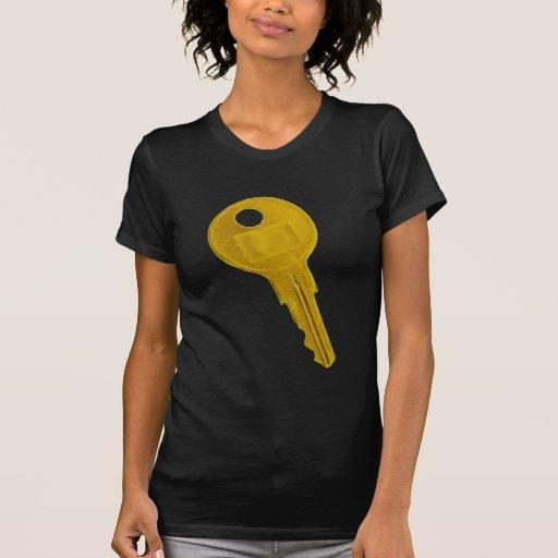 llave de oro camiseta