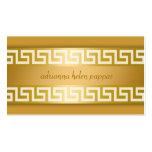 llave del Griego 311-Golden Tarjeta De Visita