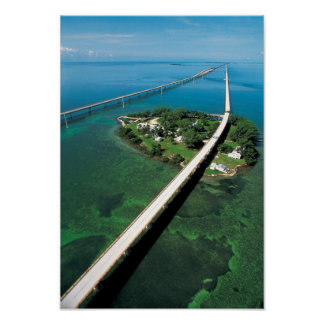 Llave del puente y de la paloma de siete millas l posters
