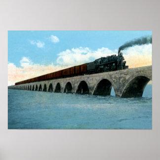 Llave larga especial cubana de Key West la Florida Póster