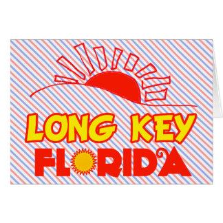 Llave larga, la Florida Felicitacion