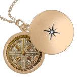 Llave porta angelical - talismán de Michael del ar Pendientes