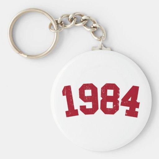 Llavero 1984