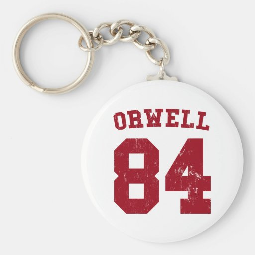 Llavero 1984 del jersey de George Orwell