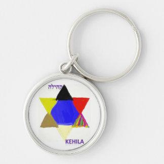 Llavero 1 del logotipo de la revista de Kehila