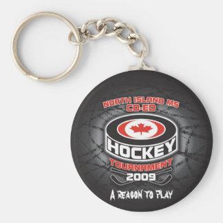 Llavero 2009 del torneo del hockey del Coed del ms