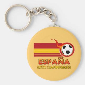 Llavero 2010 de Campeones del fútbol de Espana