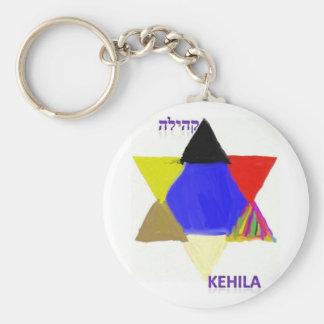 Llavero 2 del logotipo de la revista de Kehila