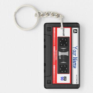 Llavero adaptable de la cinta de casete, vintage