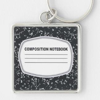 Llavero adaptable del cuaderno de la composición