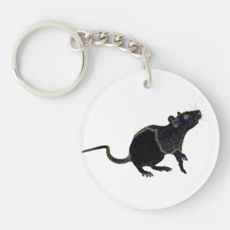 Llavero afortunado 2015 de la rata el | de Zodaic