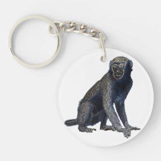 Llavero afortunado 2015 del encanto el | del mono