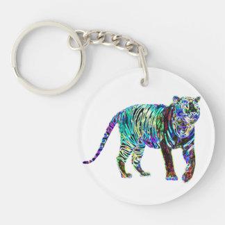 Llavero afortunado 2015 del encanto el | del tigre