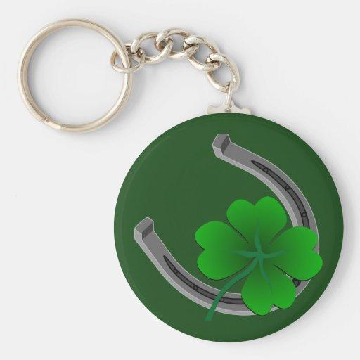 Llavero afortunado 4 regalos afortunados del llave