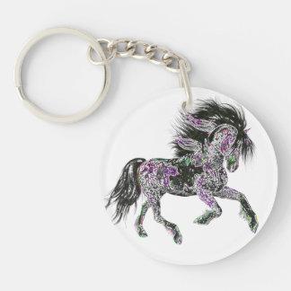 Llavero afortunado del caballo el | del zodiaco